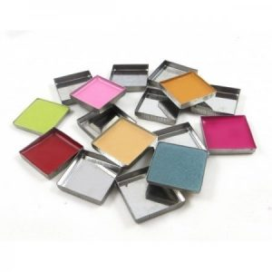 Pans cuadrados metalizados