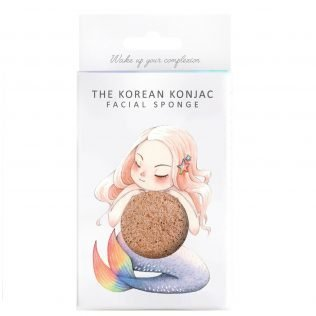 Mermaid Konjac Sponge & Hook