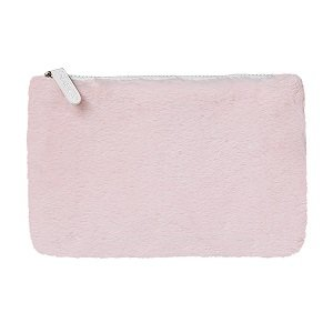 neceser fluffy makeup bag
