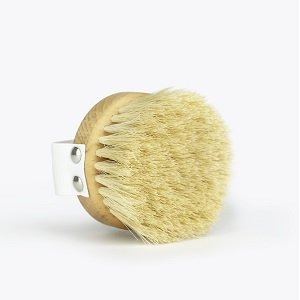 Dry Brush for Exfoliation