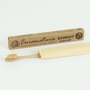 Bamboo BAMBOO Toothbrush with Bamboo Wristles