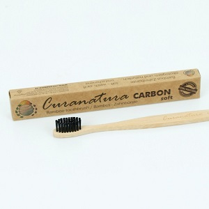 Bamboo Toothbrush With Charcoal Wristles