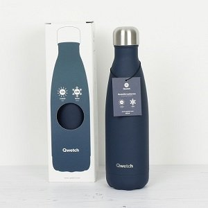 Insulated Bottle Granite Midnight Blue