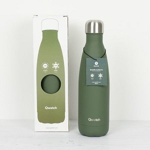Insulated Bottle Granite Khaki
