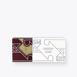 Greeny Soap Green Tea and Avocado Oil