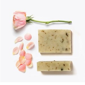 Silky Soap Rose and Shea