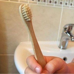 Cepillo de Dientes Bambú Niños