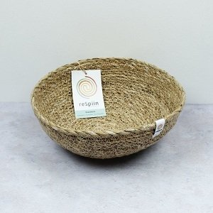 Natural Seagrass Bowl Medium