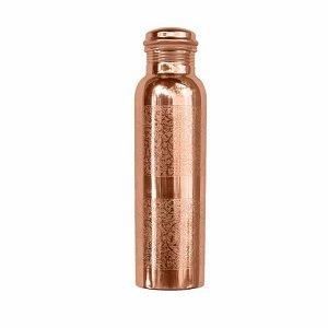 Botella Cobre Grabados
