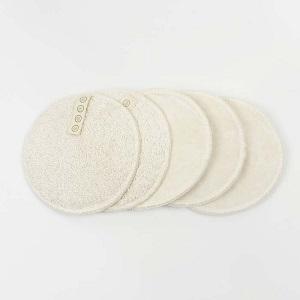 Discos Algodón Orgánico Reutilizables de Rostro
