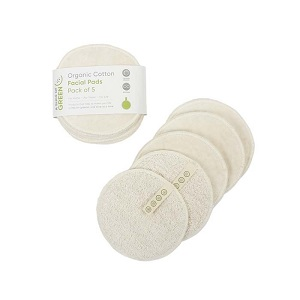 Organic Cotton Facial Pads Pack of 5