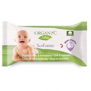 Toallitas para Bebé Organyc
