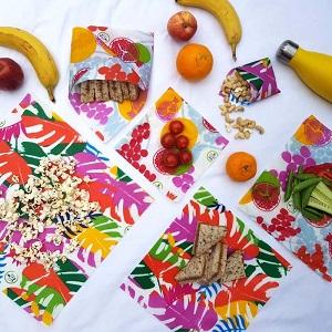 Envoltorios Reutilizables Veganos Pack Familia