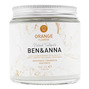 Pasta de Dientes Natural de Naranja