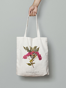Totebag Flowers In My Mind 1