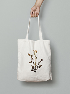 Totebag Flowers In My Mind 2